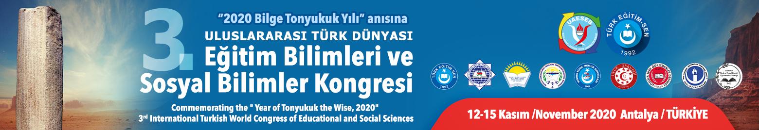 Tes Kongre | 3.Uluslararası Türk Dünyası Eğitim Bilimleri ve Sosyal Bilimler Kongresi